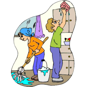 cleaning disinfecting and sanitizing