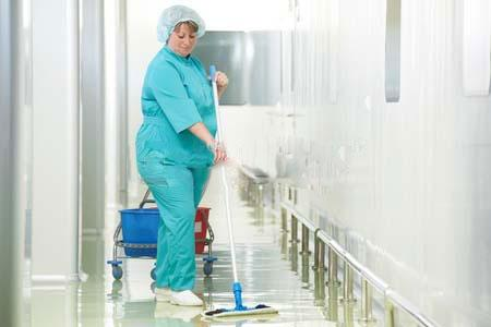 hospital janitorial services